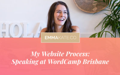 My Website Process: Speaking at WordCamp Brisbane